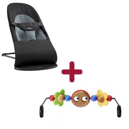 BABYBJÖRN gultukas BALANCE SOFT + medinis žaislas, promopack, 605001A 605001A Promopack