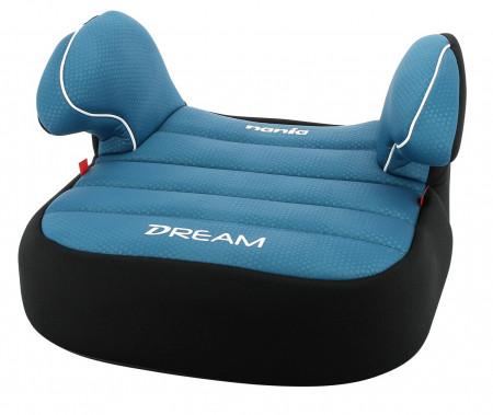 NANIA automobilinė kėdutė-busteris Dream Luxe Blue 253045