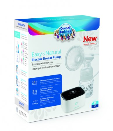 CANPOL BABIES elektrinis pientraukis Easy & Natural, 12/207 12/207