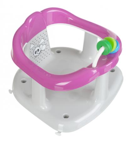 MALTEX vonios kėdutė White/Pink  Panda 6204 6204
