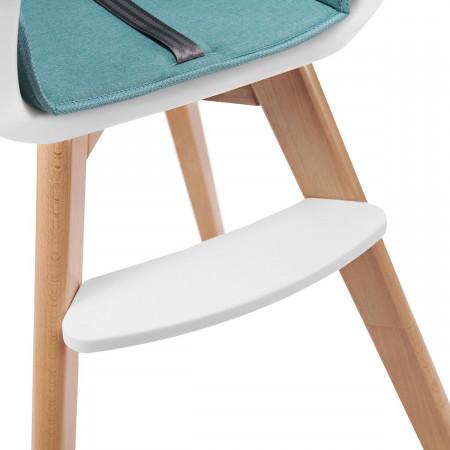 KINDERKRAFT maitinimo kėdutė 2in1 TIXI, turkio spalvos KKKTIXITRQ0000