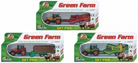 PIONEER traktorius su priek. GREEN FARM, 3 asort., PT413 PT413