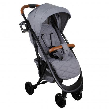 MILLI Ride vežimėlis Light Grey 4752062146313