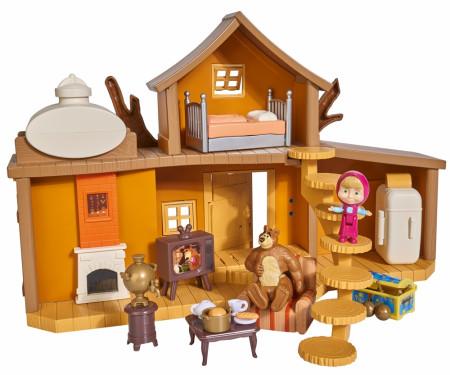 SIMBA MASHA AND THE BEAR rinkinys Big Bear House, 109301032 109301032