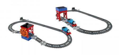 THOMAS&FRIENDS traukinuko trąsa su wandens ratu Trackmaster, DVF71 DVF71