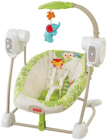 BABY GEAR gultukas-supynės Rainforest Friends, BGM57