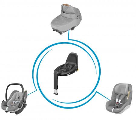 MAXI COSI bazė automobilinei kėdutei FamilyFix 3 8786010110 8786010110