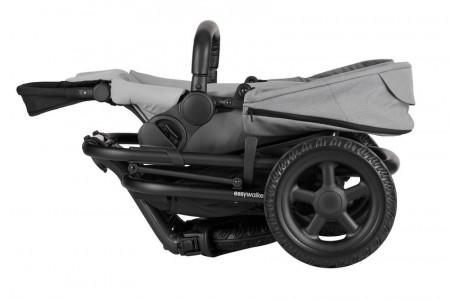 EASYWALKER vežimėlis Harvey² All-Terrain Night Black EHA21001