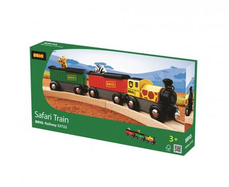 BRIO traukinys Safaris 33722 33722