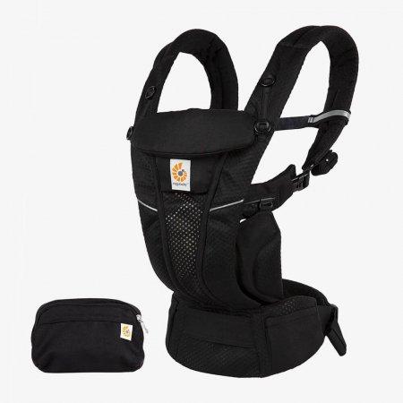 ERGOBABY nešioklė OMNI BREEZE, onyx black, BCZ360PONYX BCZ360PONYX